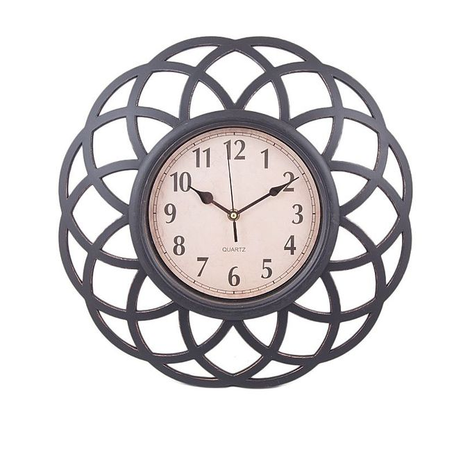 Wall Clock - 11x11 - Black