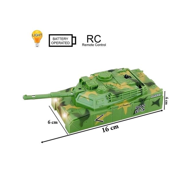 Wireless IR Remote Control Wall Climber Tank - Gre
