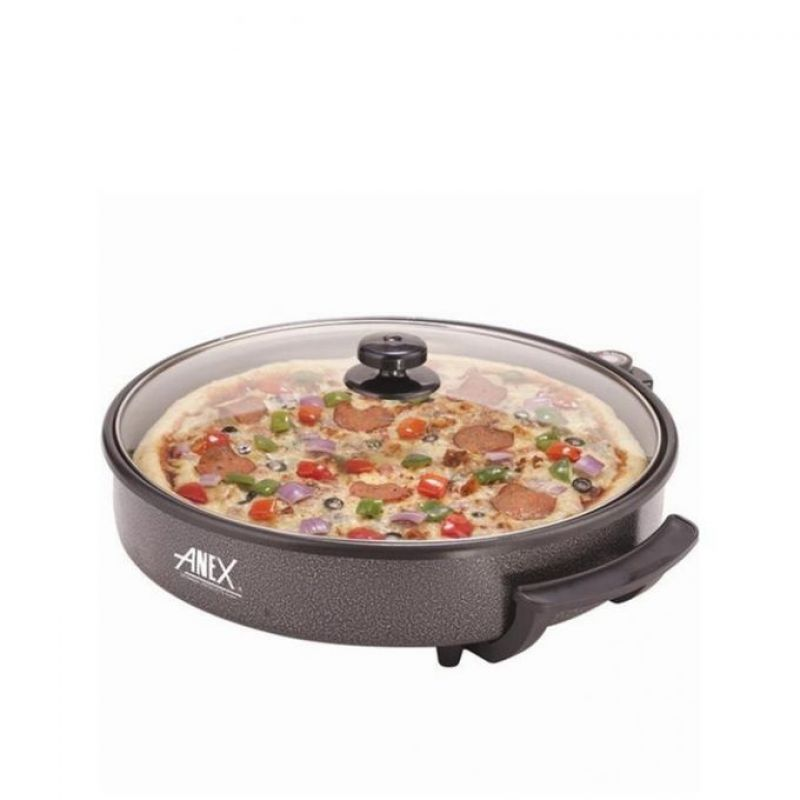 Anex AG-3064 - Pizza Pan and Grill - Black
