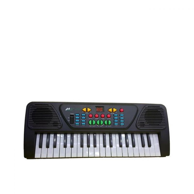 Electronic Piano With Recording and Playback  Black
