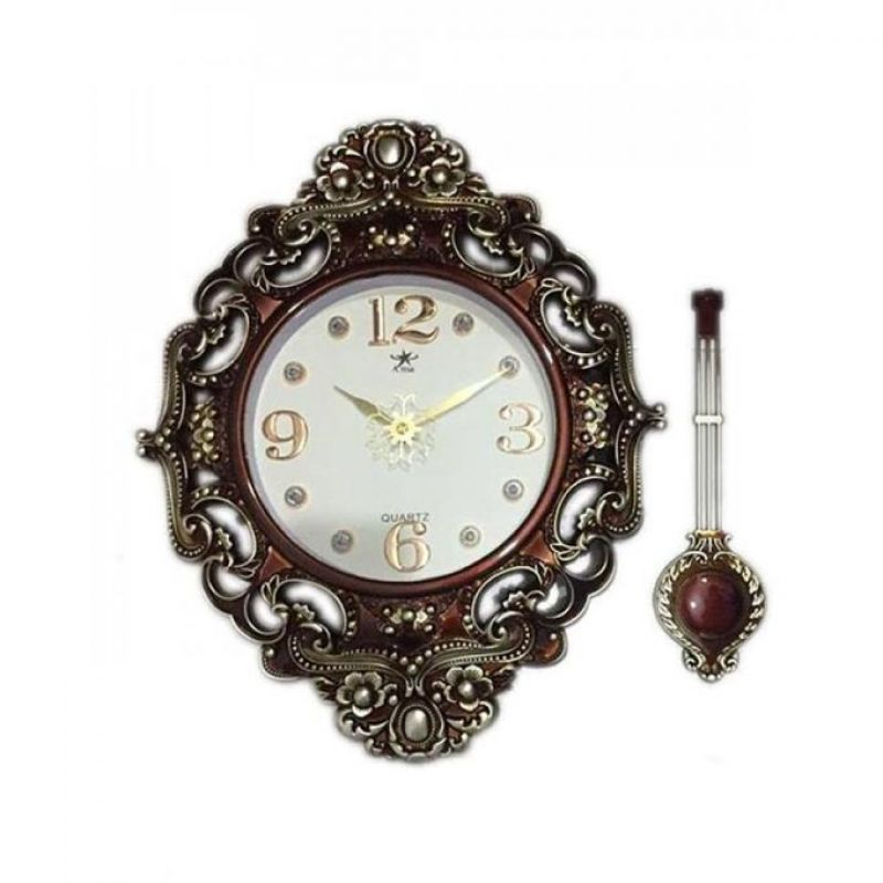 Embroided Anchor Wall Clock In Pakistan Hitshop