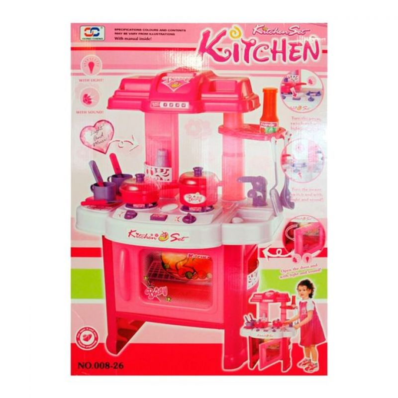 Kitchen Set Toy Pink In Pakistan Hitshop