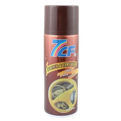 7cF Leather & Tyre Wax 450ml