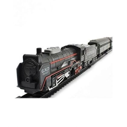 Battery Operated Big Toy Train - Black