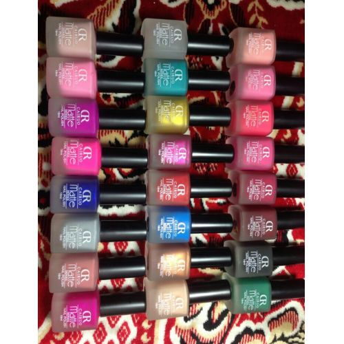 CR matte nail polish 24 Pcs Set