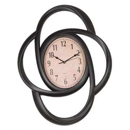 Fancy Wall Clock - Black