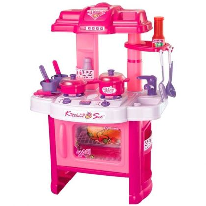Kitchen Set Toy -Pink