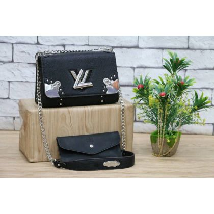 LV Black Womens Shoulder And Hand bag