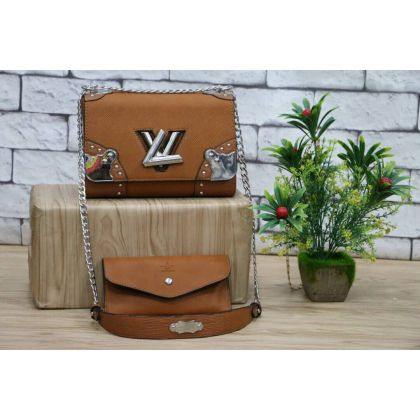 LV Womens Shoulder And Hand Bag Set