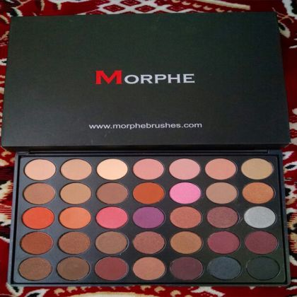 Morphe Eyeshadows 35 Exciting Colors