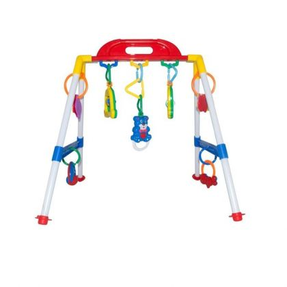 Musical Baby Play Gym Multicolor