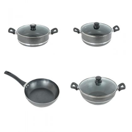 Non-Stick Cookware Set 17 Pcs