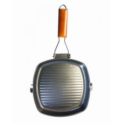 Non-Stick Grill Pan - 36cm - Black