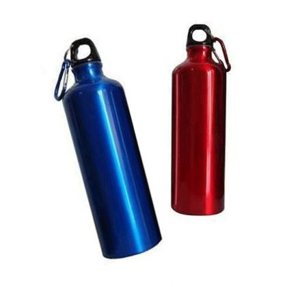 Pack Of 2 - Water Bottles - Red & Blue
