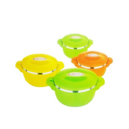 Pack of 4 Hot Pot Set - Multicolor