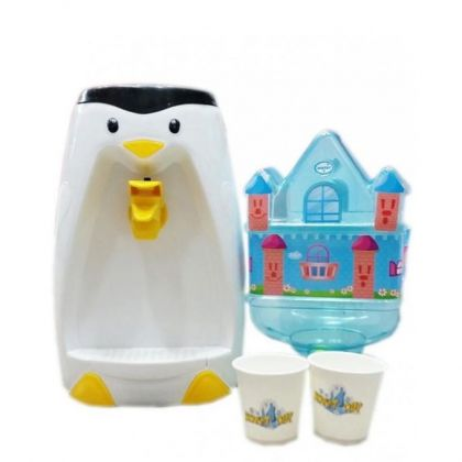 Penguin Water Dispenser for Kids - Multicolor