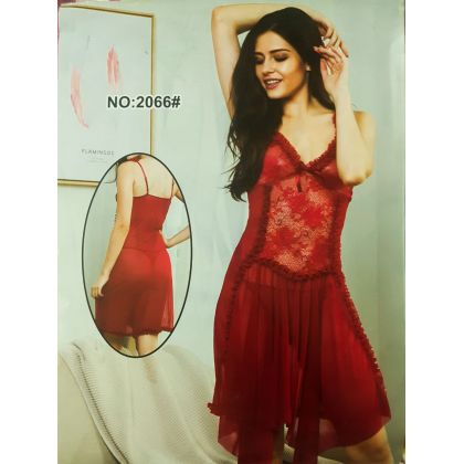 ea88702d3b1 1 Red Net Lace Nightie For Her in Pakistan | Hitshop.pk