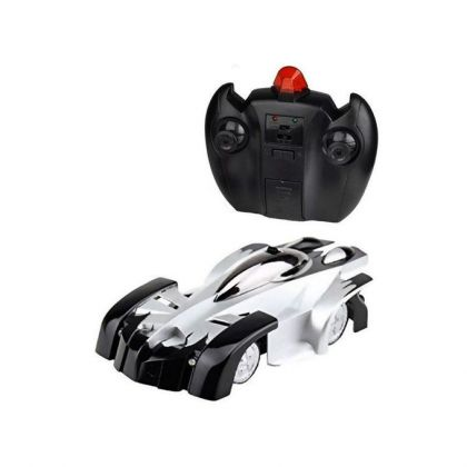 Remote Control Wall Climbing Car - Black & Sil