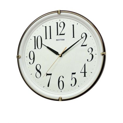 Rhythm Japan CMG404NR06 - Wall Clock - Brown