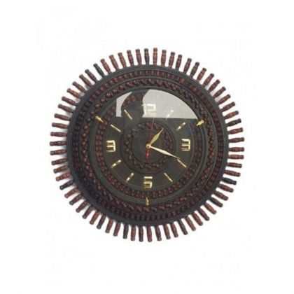 Sheesham Wood Large Wall Clock