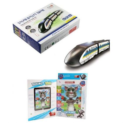 Solar Bullet Train and Tom Cat Tablet