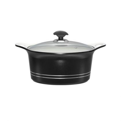 Sonex Cooking Pot - 20 cm - Black