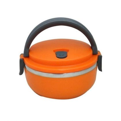 Stainless Steel Food Container - Orange