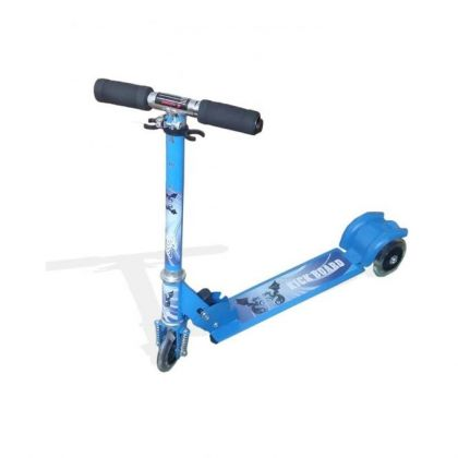 Wheel Scooty For Kids - Blue