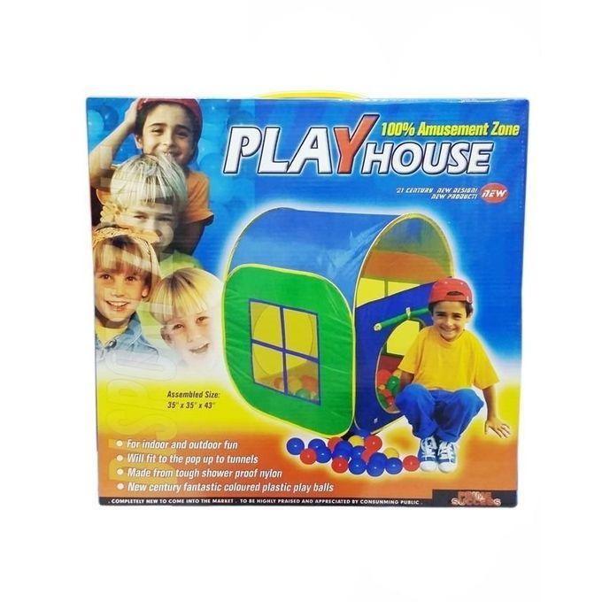 Play House - 50 Soft Plastic Balls