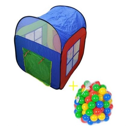 Play House - 50 Soft Plastic Balls